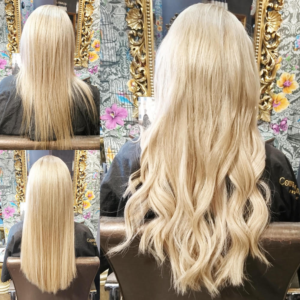 Before, During & After — Great Lengths Extensions by Rachel (140 pieces of 45cm)