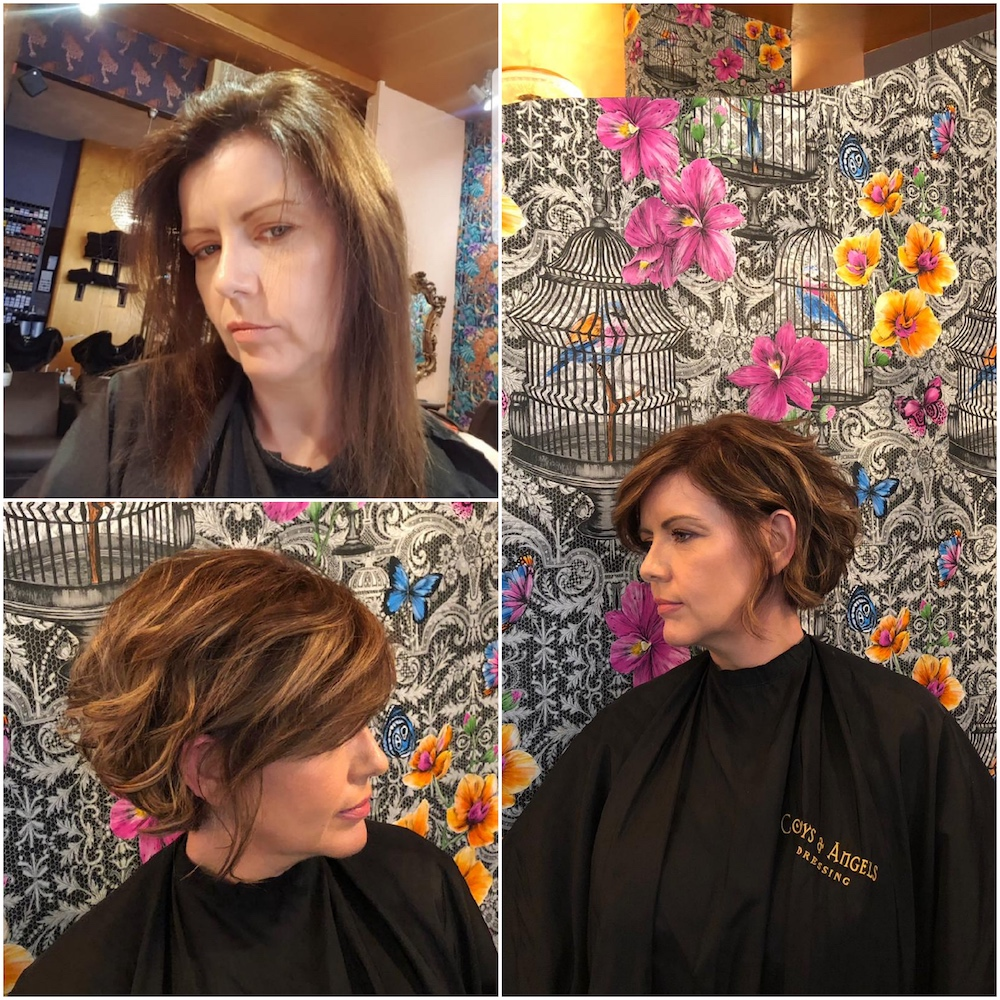 Before & After - Cut & Transformation by Joan