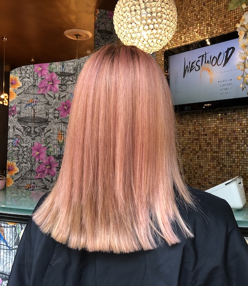 Rose gold pink - Colour by Louise