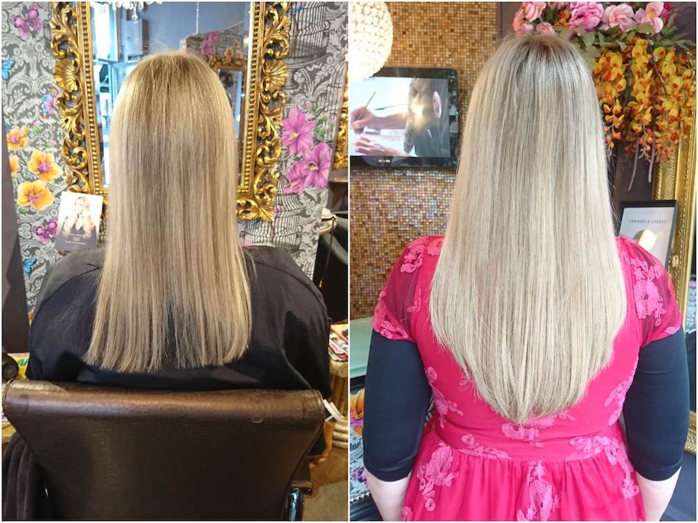Before & After —Great Lengths Tapes Extensions by Rachel