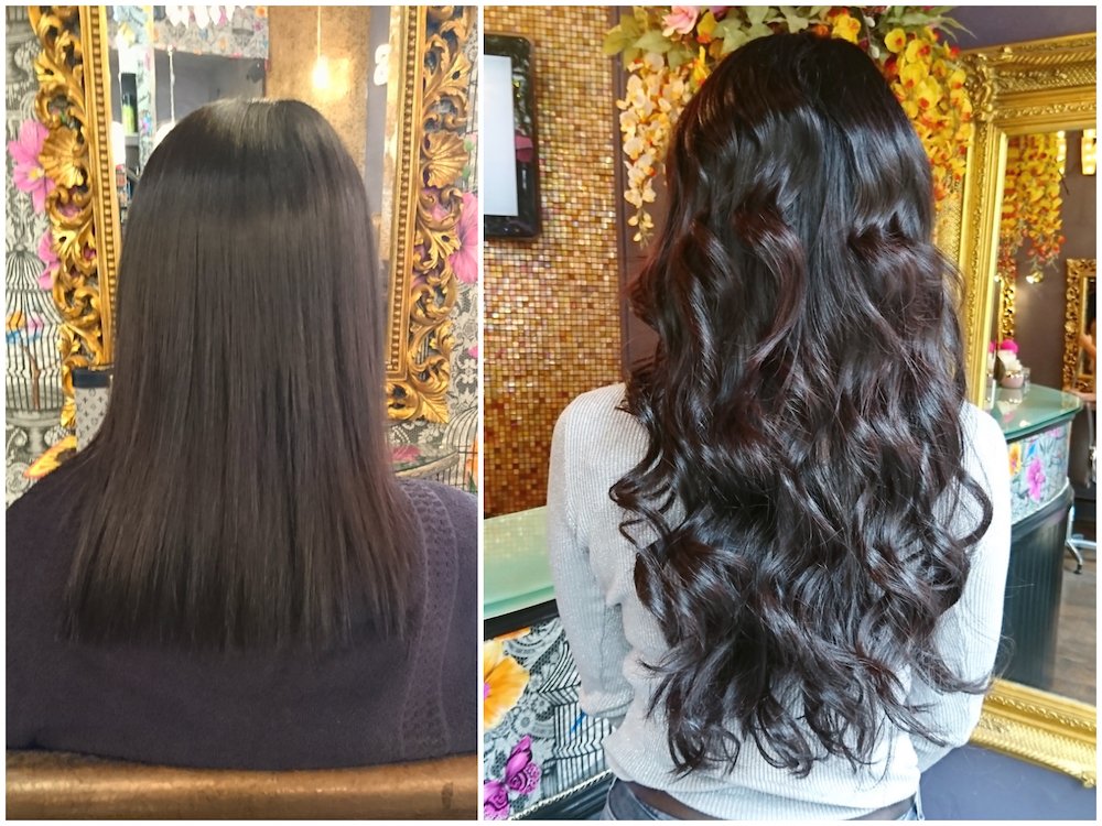 Before & After — Great Lengths Extensions by Rachel (150 pieces of 50cm)