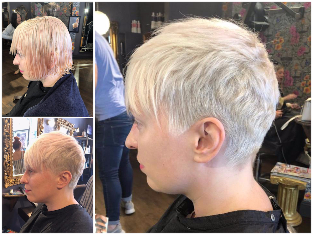 Before & After - Cut by Joan
