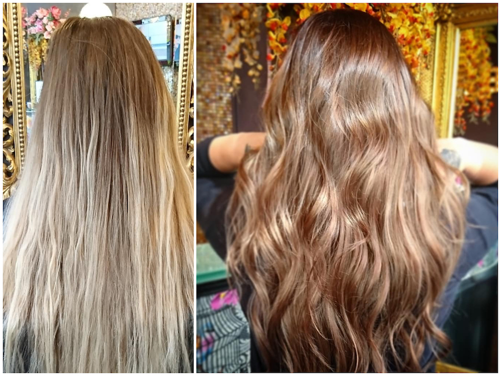 Before & After — Colour by Rachel
