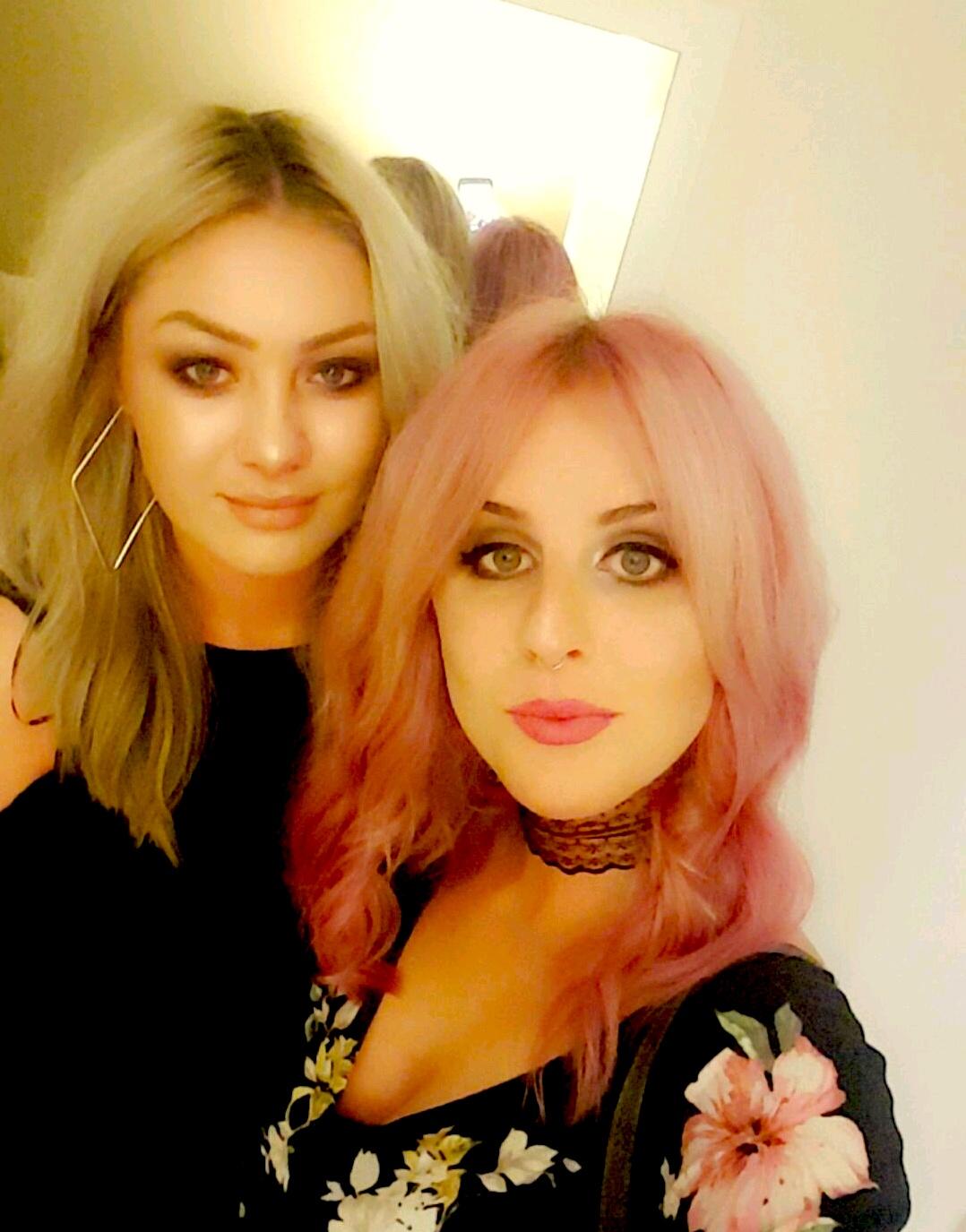Rachel & Megan (Left)