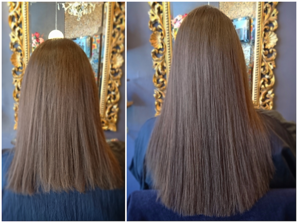 Before & After — Great Lengths Extensions by Rachel (75 pieces of 40cm)