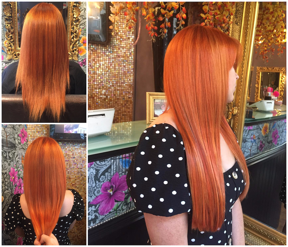 Before & After — Great Lengths Extensions by Abbie