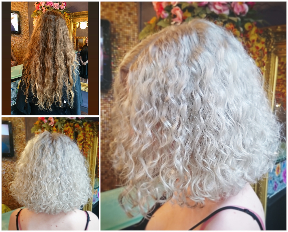 Before & After — Colour Change by Rachel (Brunette to Blonde)