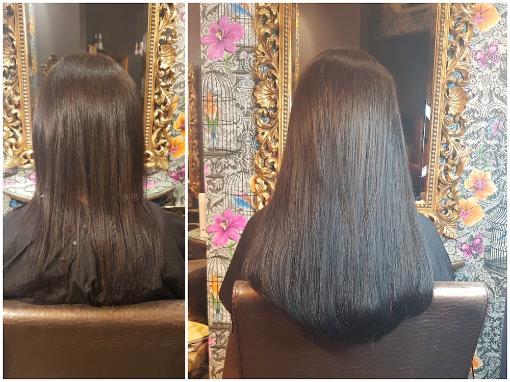 Before & After — Great Lengths Extensions by Louise (75 pieces of 40cm)