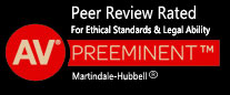 AV Peer Review Rated badge