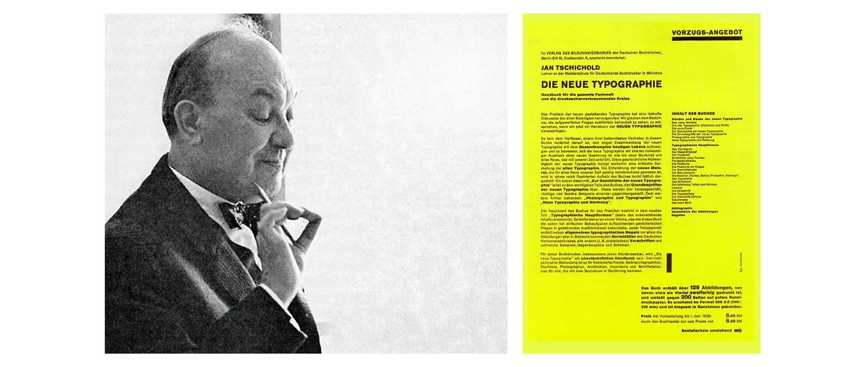 Jan Tschichold và cuốn Die Neue Typographie