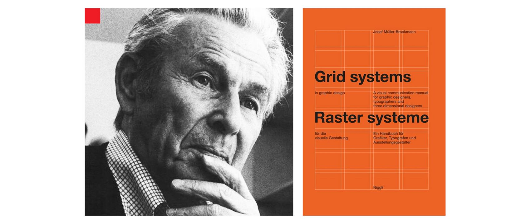 Müller-Brockmann và cuốn Grid Systems