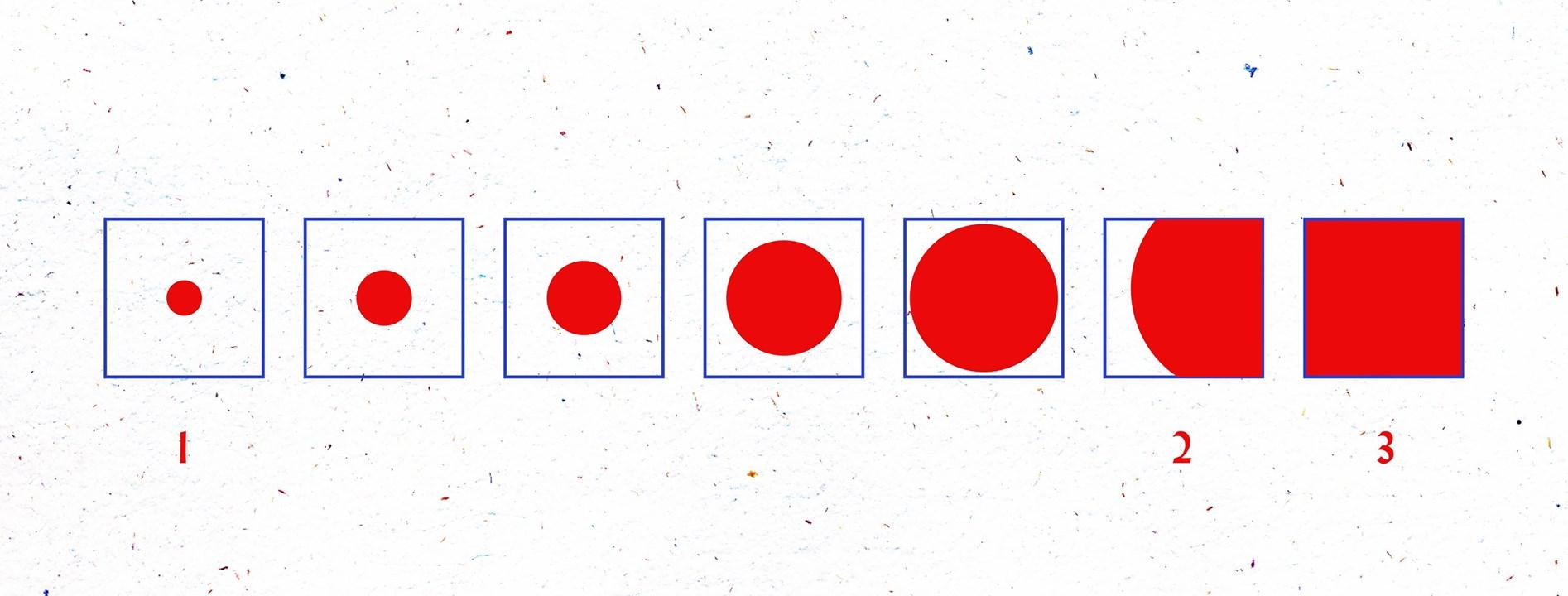 Hình tròn trong 1 grid field