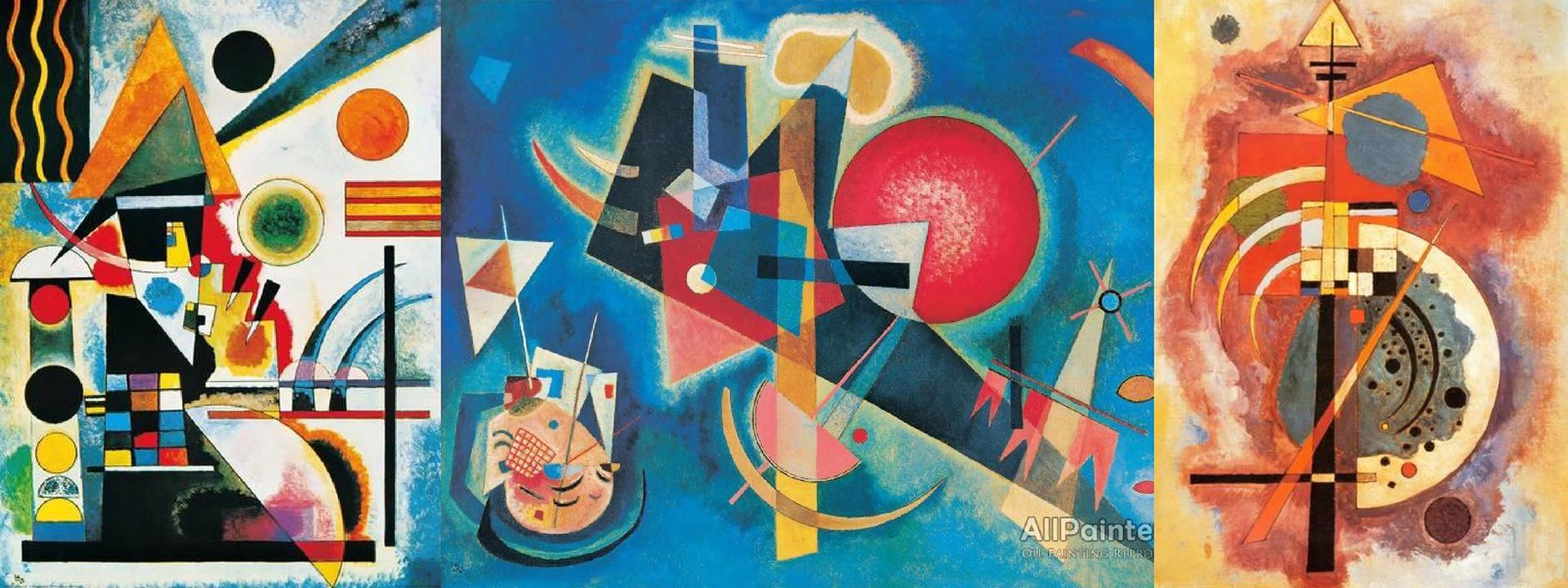 Wassily Kandinsky abstract paintings