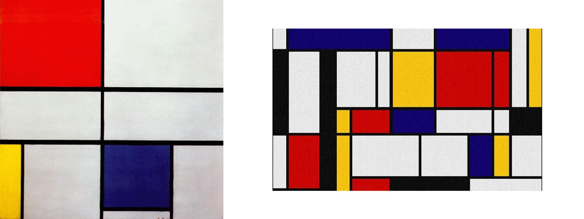 Piet Mondrian paintings