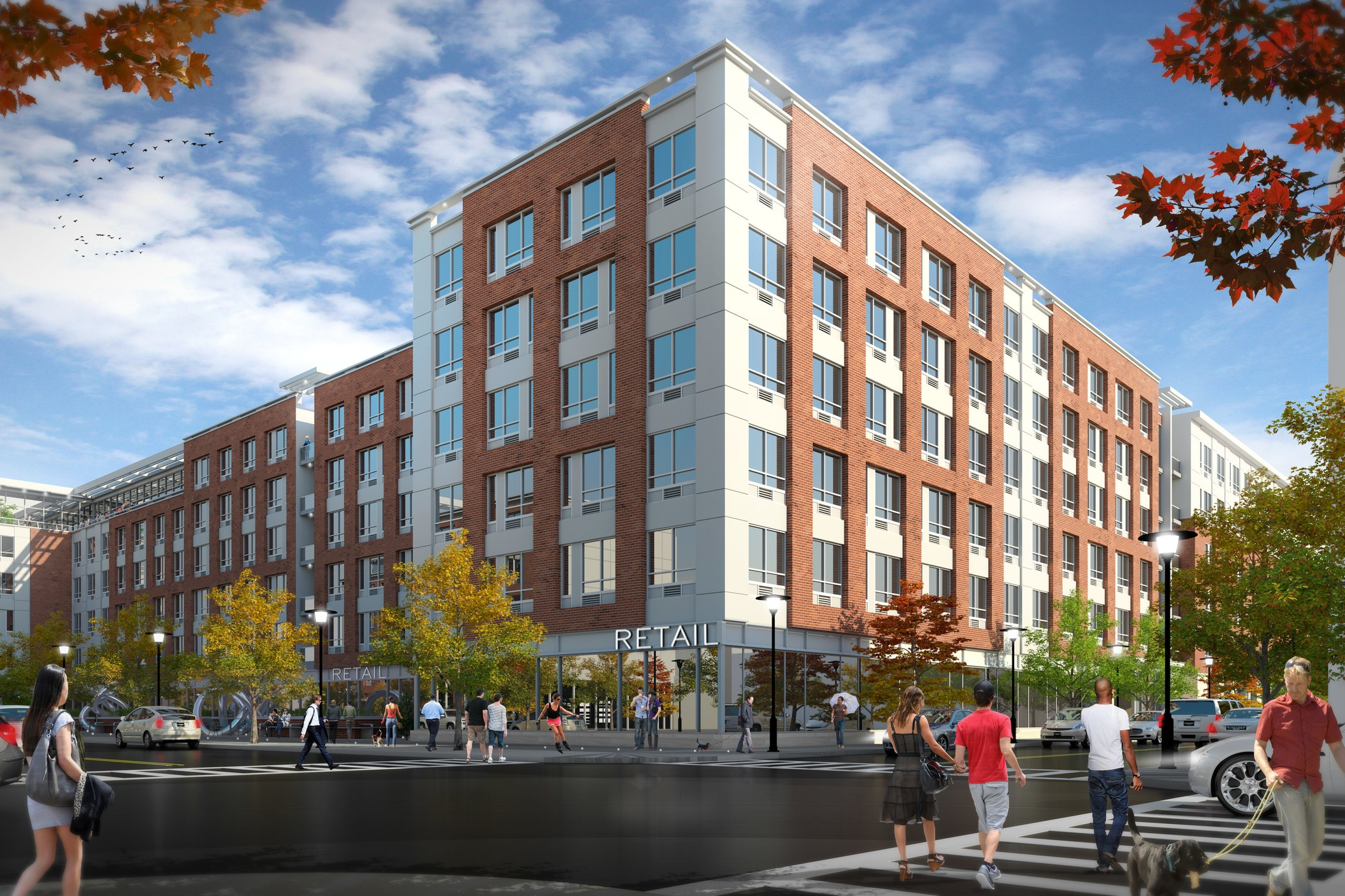 Mulberry Street Development - Two-phased, 350,000 SF mixed-use development project in Newark, New Jersey. This project includes 311 residential units, a multi-story parking deck, ground floor retail & residential amenities.