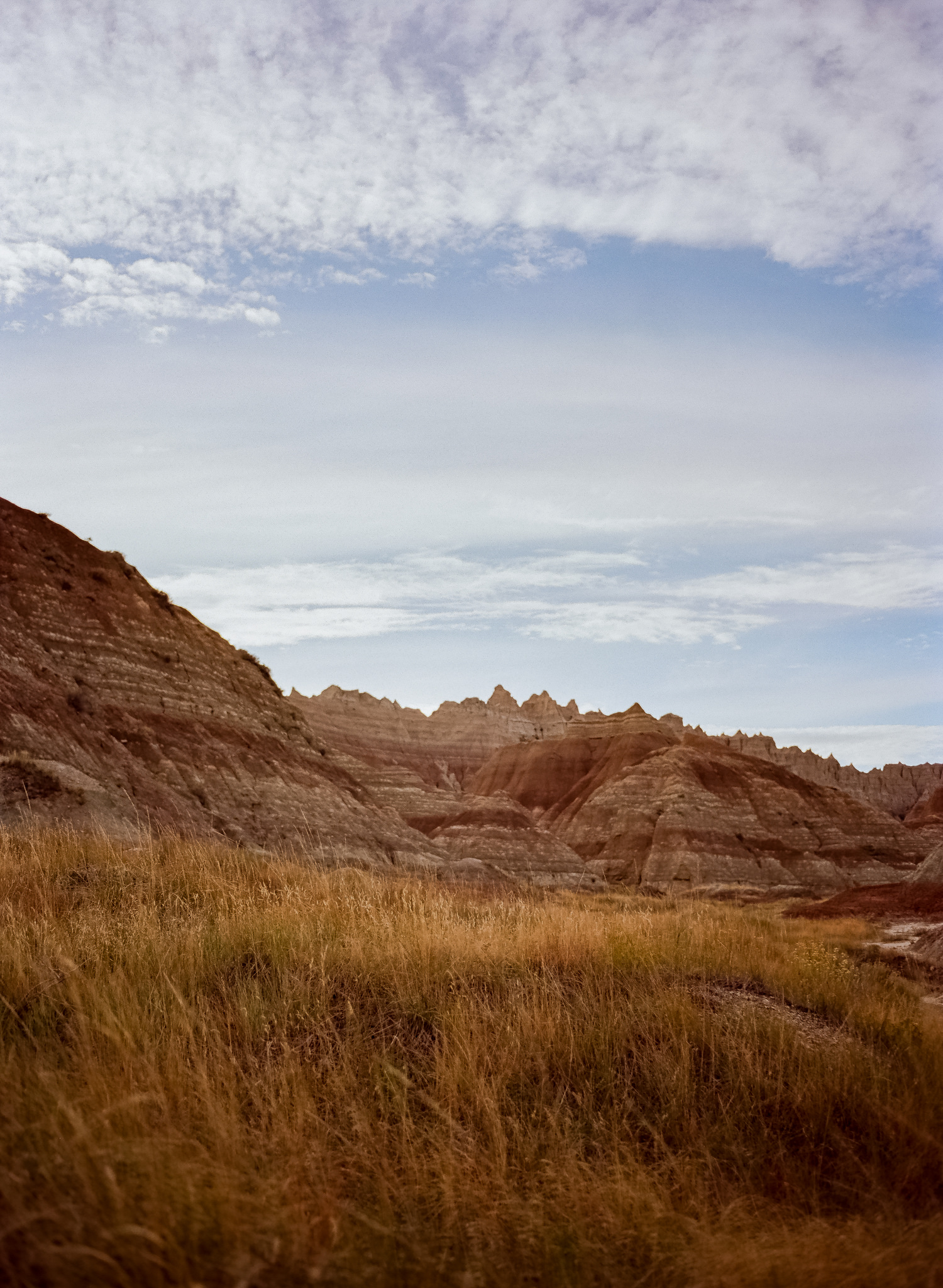Ektar 100 - Badlands National Park