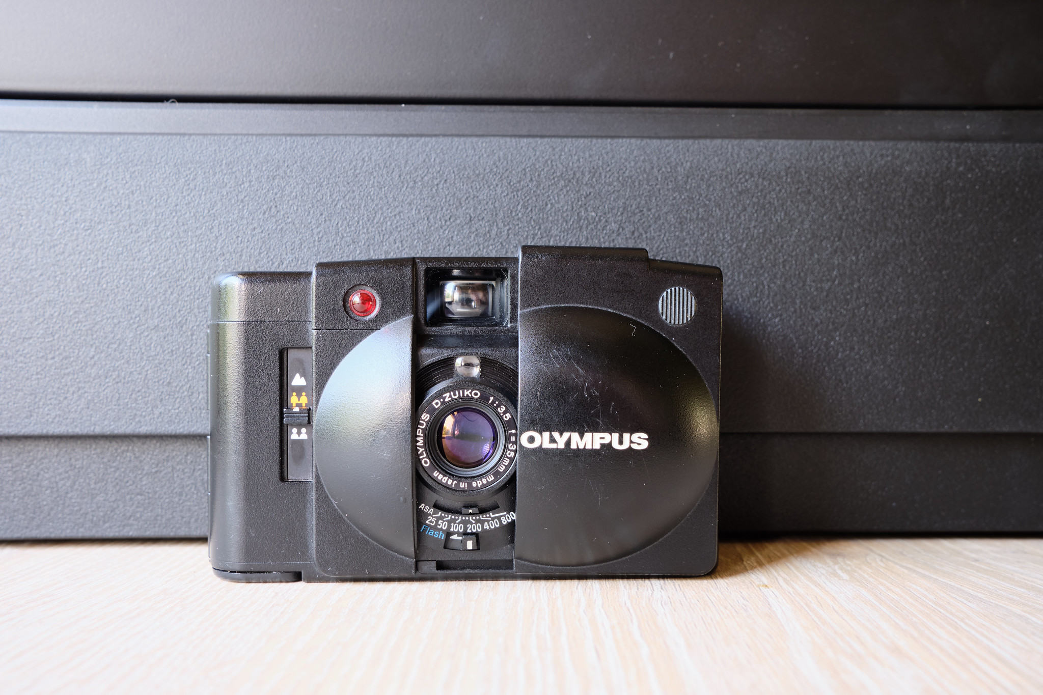 The Olympus XA2 and all of its plasticky goodness.