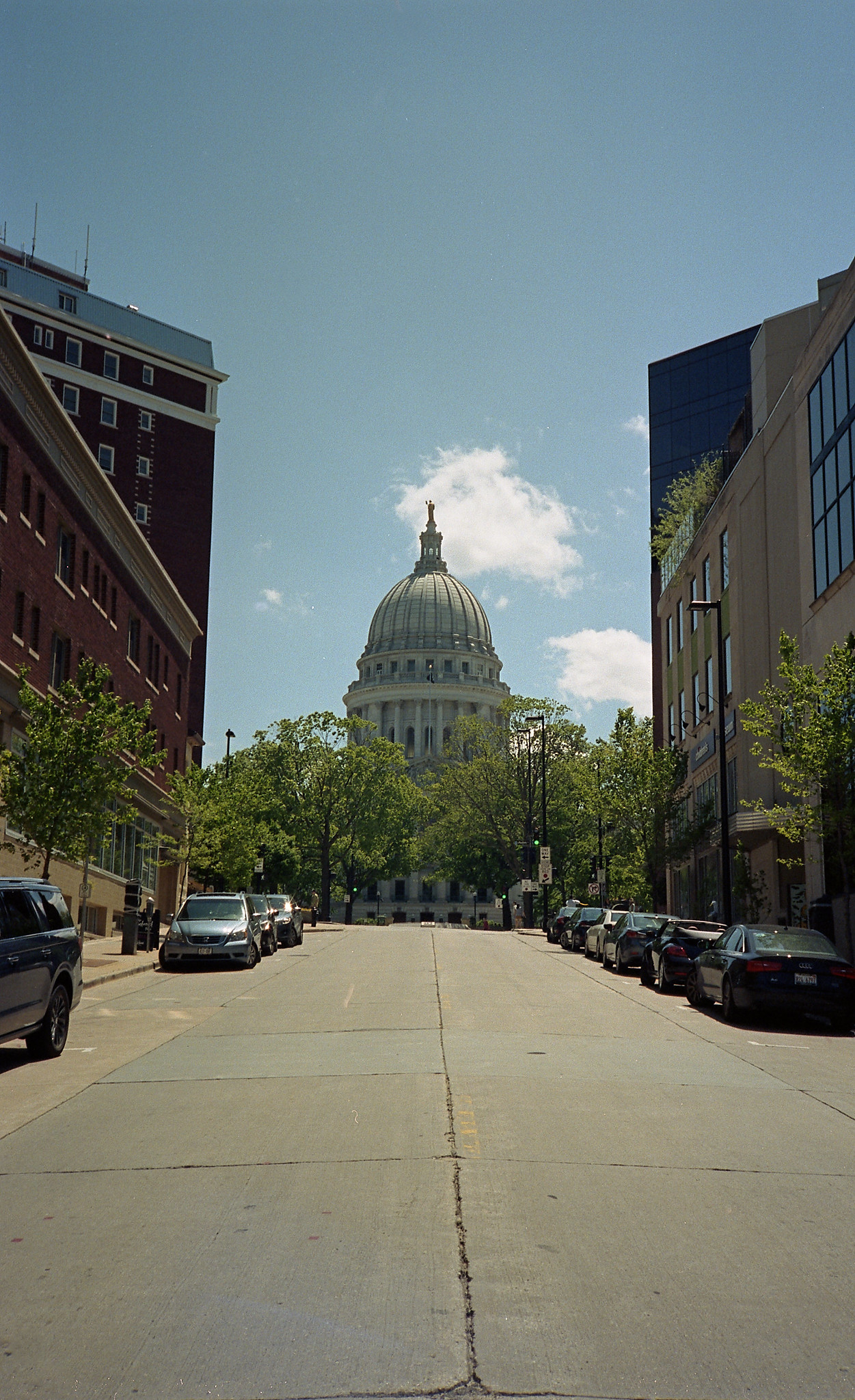 Portra 400. Madison, Wisconsin.