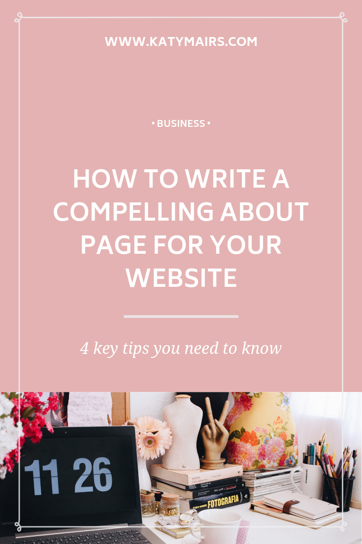 How To Write a Compelling About Page For Your Website