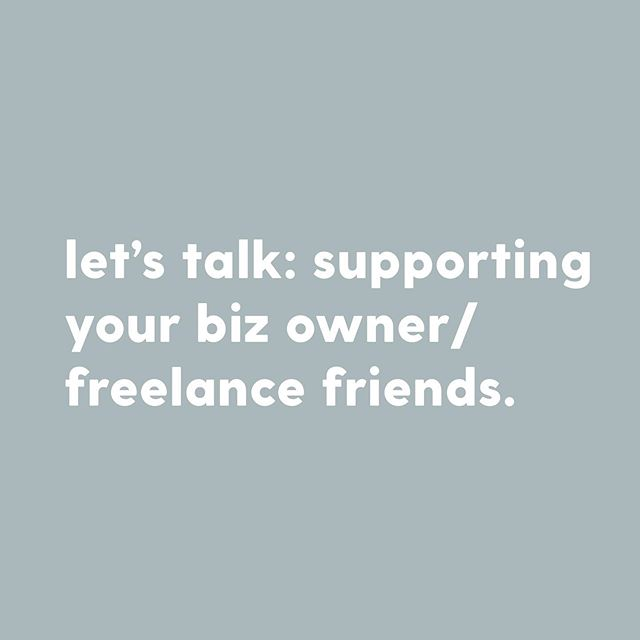 "💡 Do you want to support your biz owner/freelance pals but can't afford/aren't in need of their product or service?⁣ 🤔 ⁣ Hey, that's okay! Becauuuuuse you can (and should) support them for FREE (or for the price of a cup of coffee!) Want to know exactly what you can do? I got you.⁣ 🥰 ⁣ This is something I talk about a lot (like, a LOT) but it's alwaaaaaays something worth reiterating time and time again. Seriously, your small biz/freelance pals need your support more than you know.⁣ ⁣ 💫 Spread the word! Word is mouth is invaluable for any biz. You never know, one of your contacts could be your pal's IDEAL client. Shout about your creative friends from the rooftops!⁣ ⁣ 💫 Share! Sharing your friend's social media posts helps them reach more people. It's that simple. Liking and commenting on their posts can help in the same manner. It takes, what, half a MINUTE at most? And it does a WORLD of good.⁣ ⁣ 💫 Buy them a coffee! There's nothing quite like a few words of encouragement over a coffee. Or, you could direct them to Ko-Fi, a platform which allows creators to receive money from those who enjoy their content/want to support them. You support with a ""coffee"" (a small payment roughly equal to the price of a coffee!) If you'd like to support me via Ko-Fi, you can find me at ko-fi.com/katymairs⁣ ☕️❤️ ⁣ Share your tips for supporting your biz/freelance pals!⁣ 👇🏻"