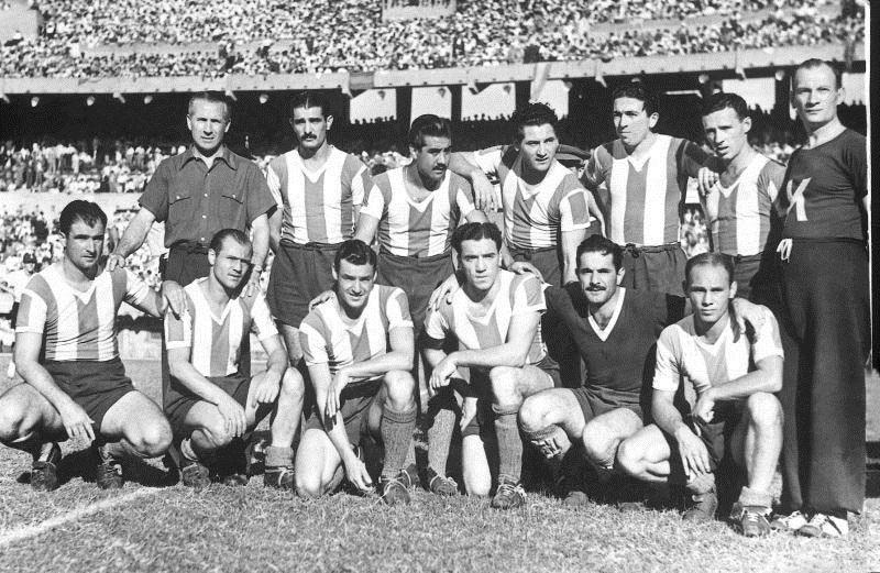 Η ομάδα της Αργεντινής το 1946