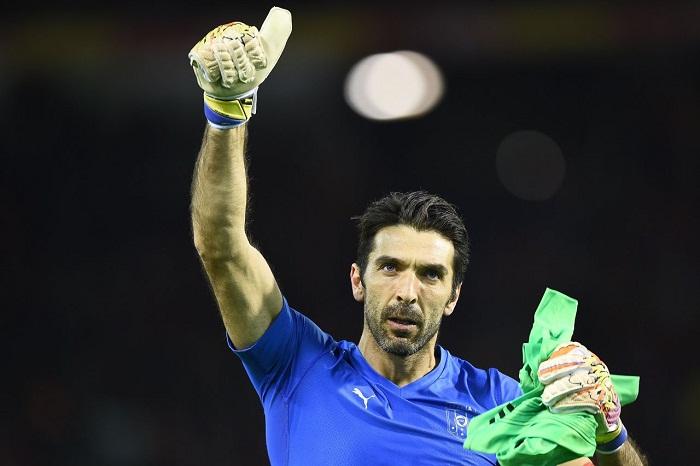 Ο Ιταλός τερματοφύλακας Gianluigi Buffon