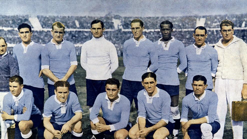 Η Εθνική Ουρουγουάης στο Παγκόσμιο Κύπελλο του 1930