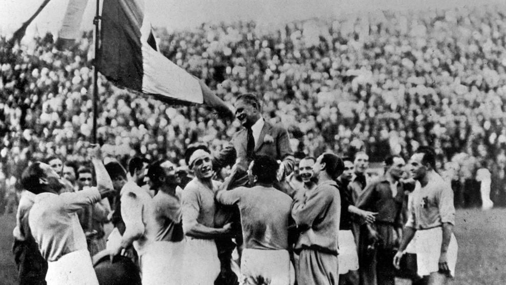 Η Εθνική Ιταλίας στο Παγκόσμιο Κύπελλο του 1934