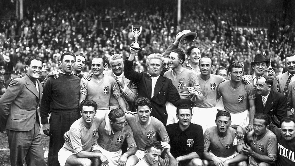 Η Εθνική Ιταλίας στο Παγκόσμιο Κύπελλο του 1938