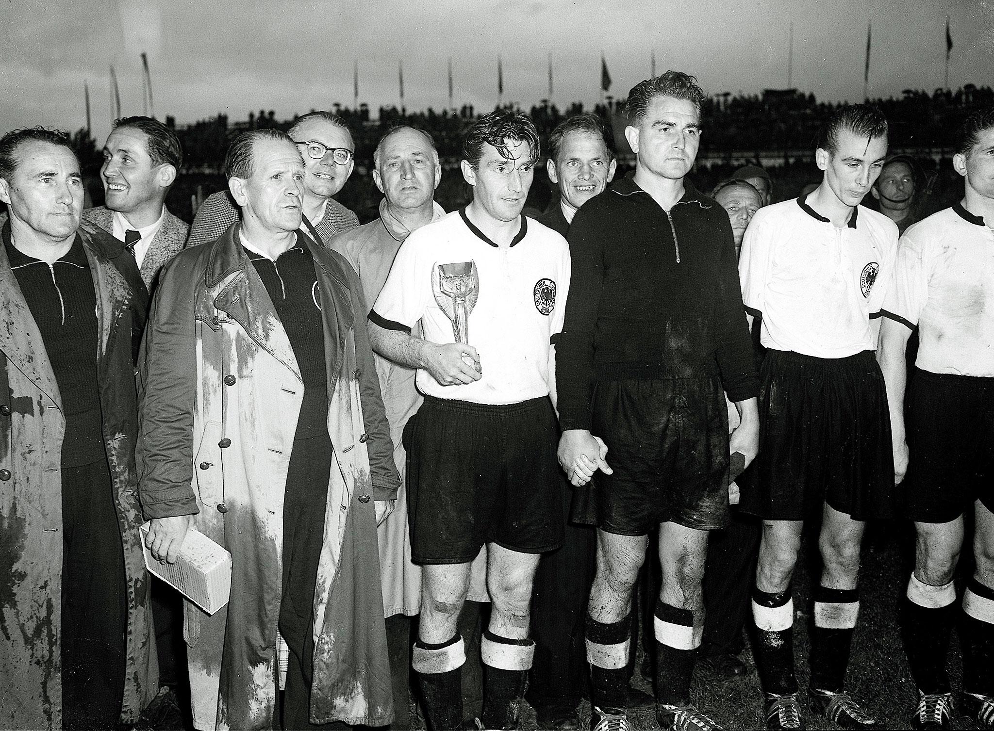Η Δυτική Γερμανία Παγκόσμια Πρωταθλήτρια του 1954