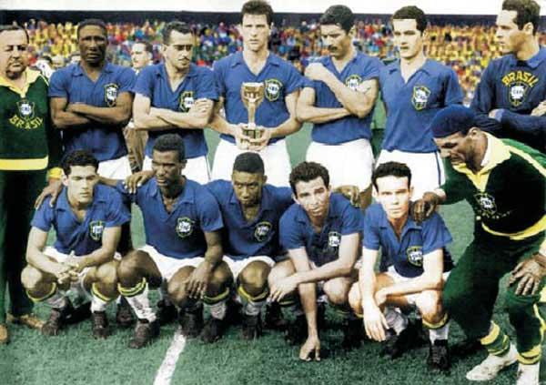 1958: Η Βραζιλία του Πελέ φτάνει για πρώτη φορά στην κορυφή