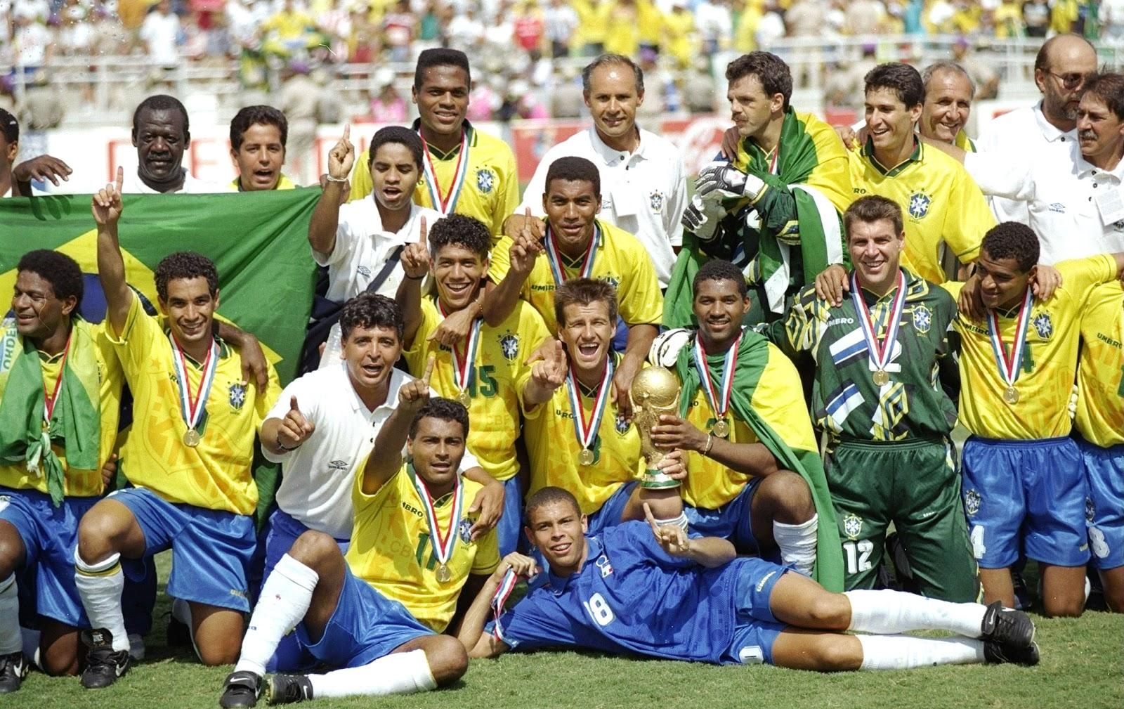 Η Εθνική Βραζιλίας νικήτρια στο Μουντιάλ του 1994