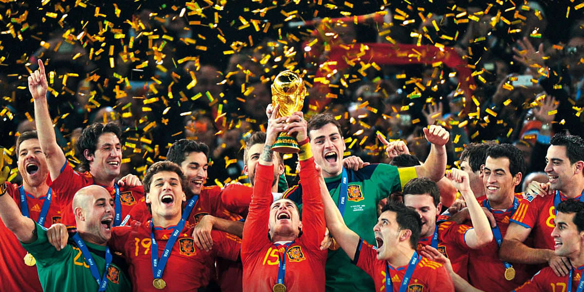 Η κατάκτηση του Μουντιάλ του 2010 από την Ισπανία