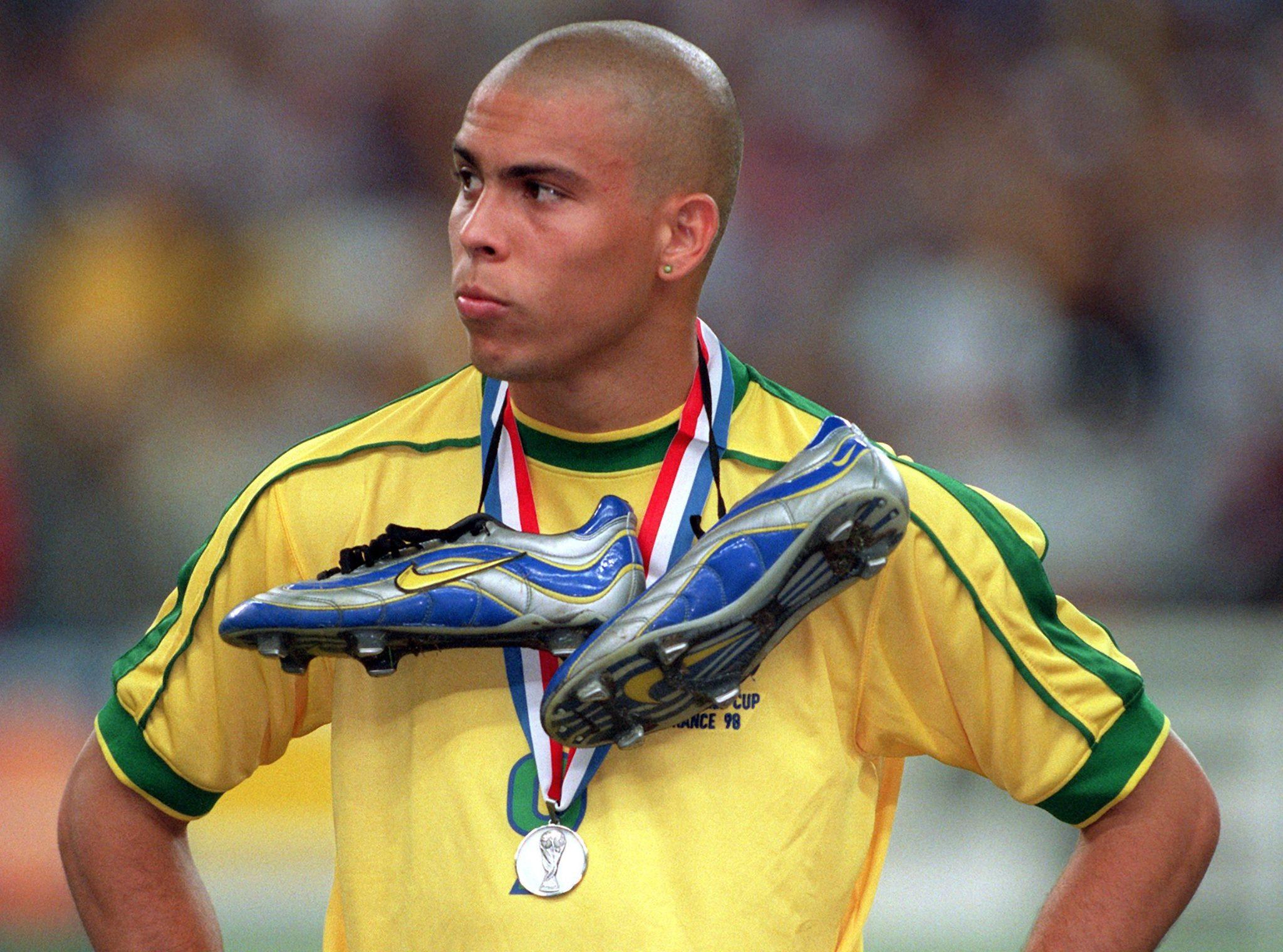 Ο Ronaldo με τα χρώματα της Βραζιλίας