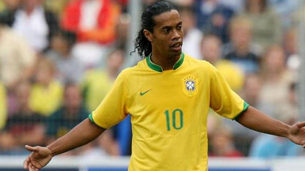 Ο Ronaldinho στο Μουντιάλ του 2006