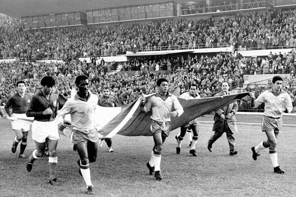Ποδοσφαιριστές στο Μουντιάλ του 1962