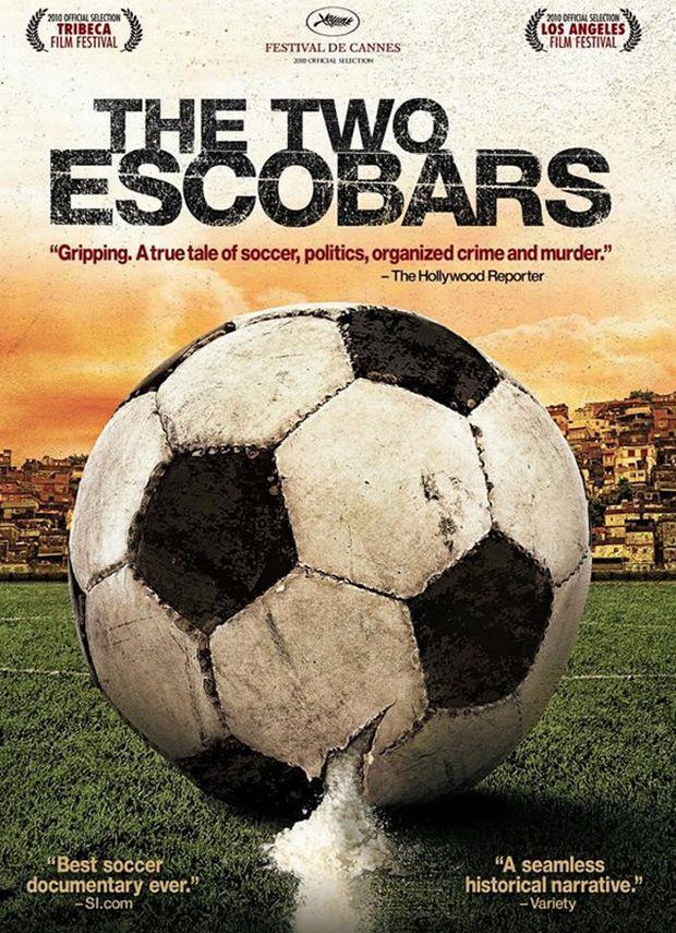 """Το πόστερ του ντοκιμαντέρ """"The two Escobars"""""""