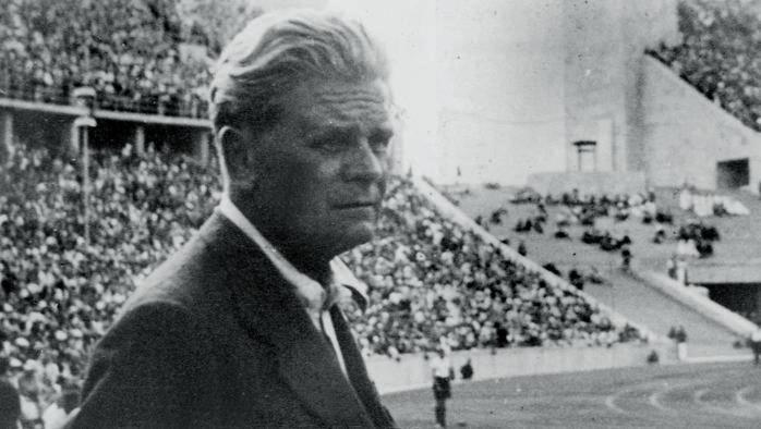 Ο Ιταλός προπονητής Vitorio Pozzo