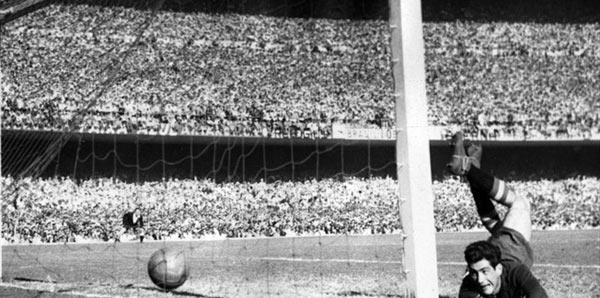 Γκολ στο Παγκόσμιο Κύπελλο του 1950