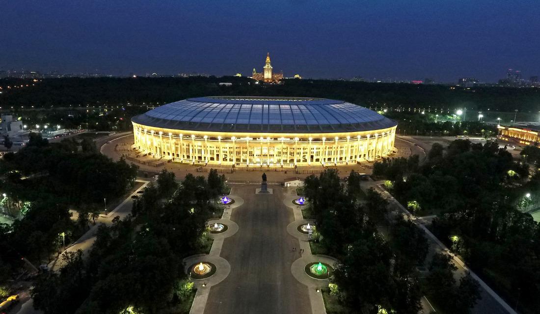 Το γήπεδο Luzhniki