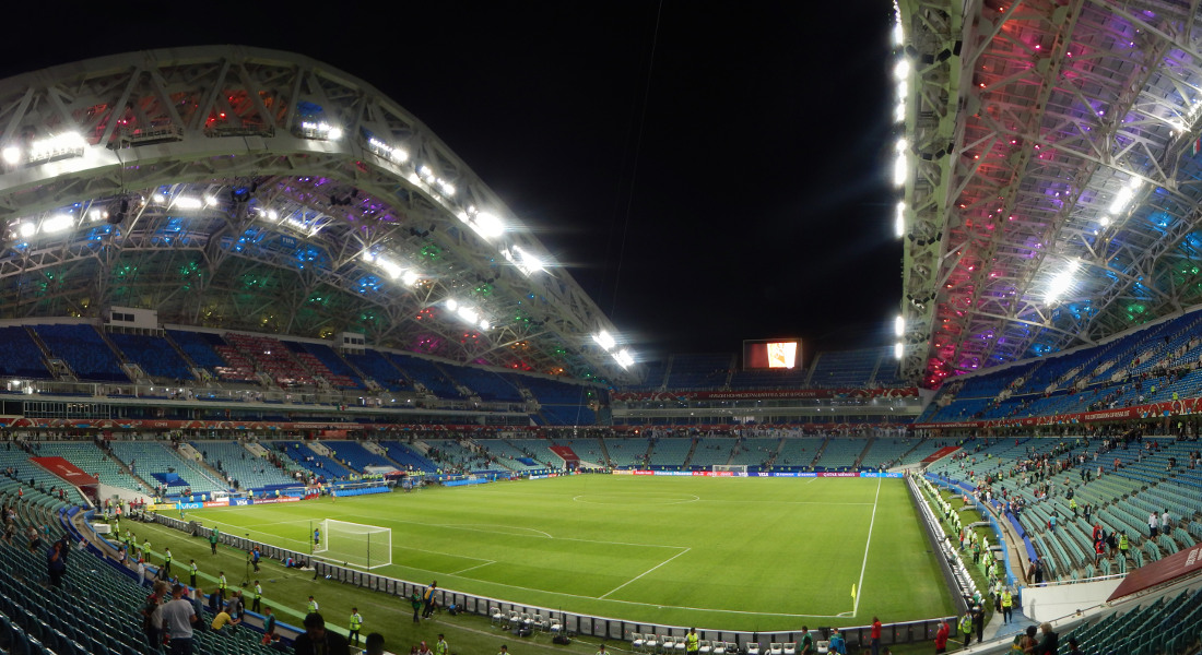 Το Fisht Olympic Stadium στο Sochi