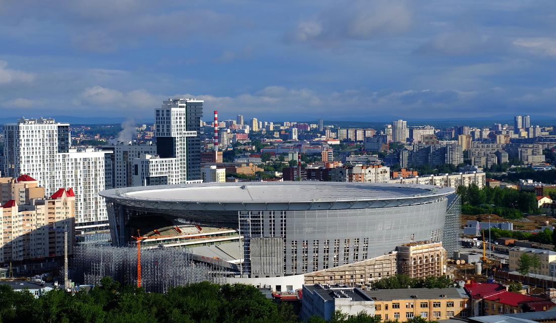 Το στάδιο Ekaterinburg Arena