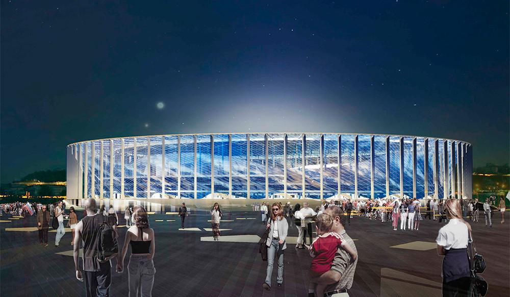 Το Nizhny Novgorod Stadium