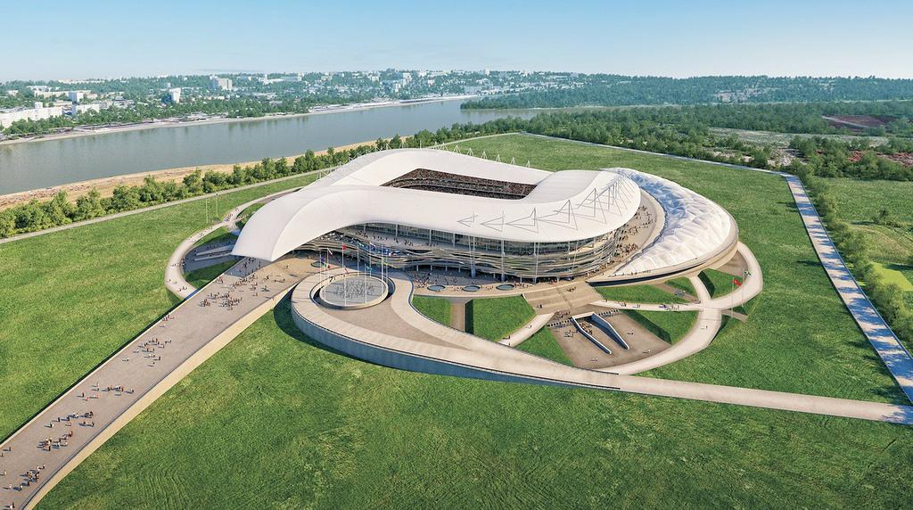 Το στάδιο Rostov Arena