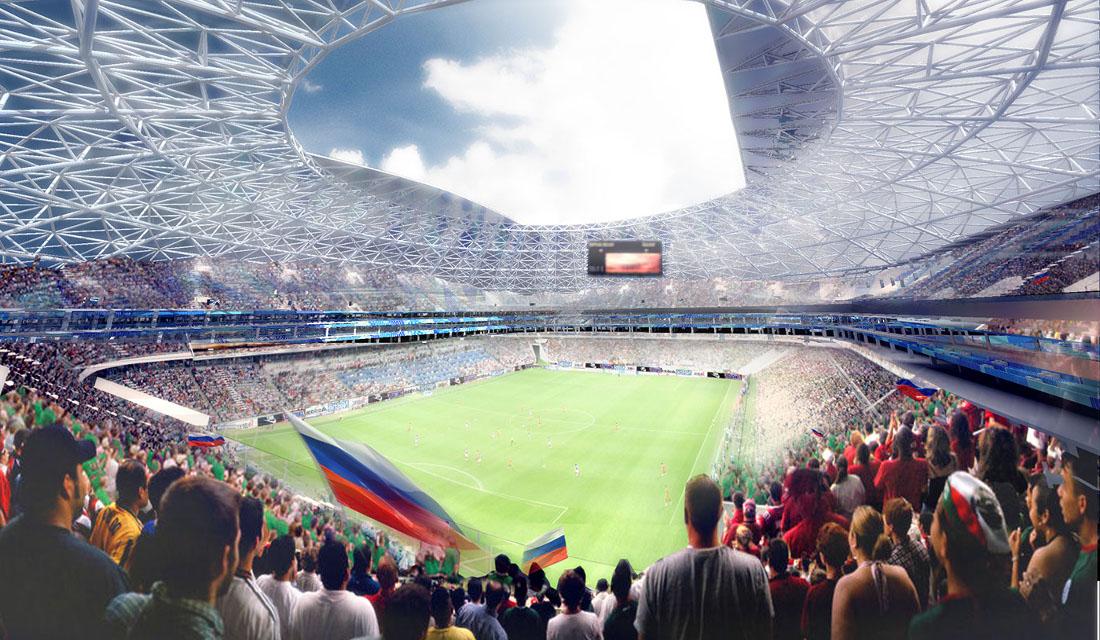 Το στάδιο Cosmos Arena