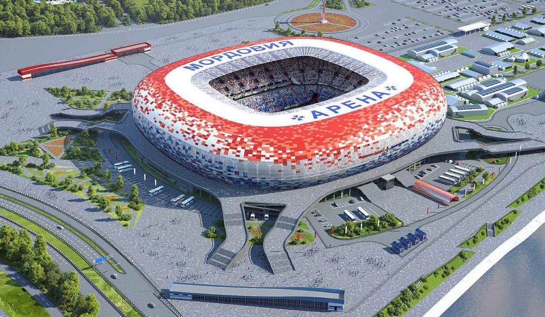 Το γήπεδο Mordovia Arena