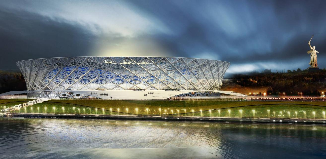 Το γήπεδο Volgograd Arena
