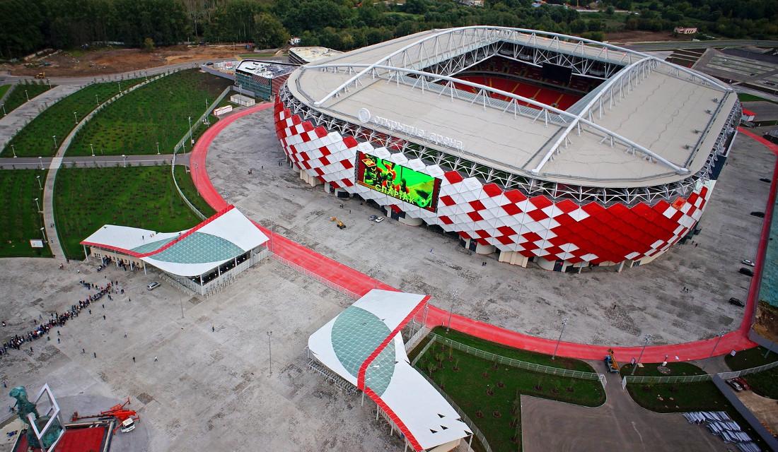 Το στάδιο Otkritie Arena