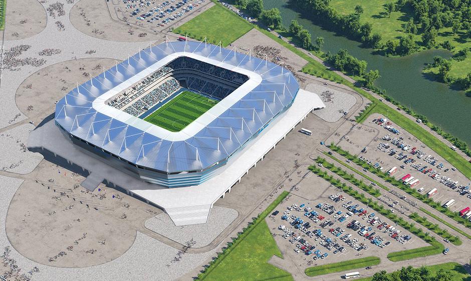 Το γήπεδο του Kaliningrad
