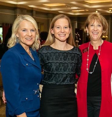 Lt. Governor Bethany Hall-Long, Erica Marshall and Sharon Kelly Hake